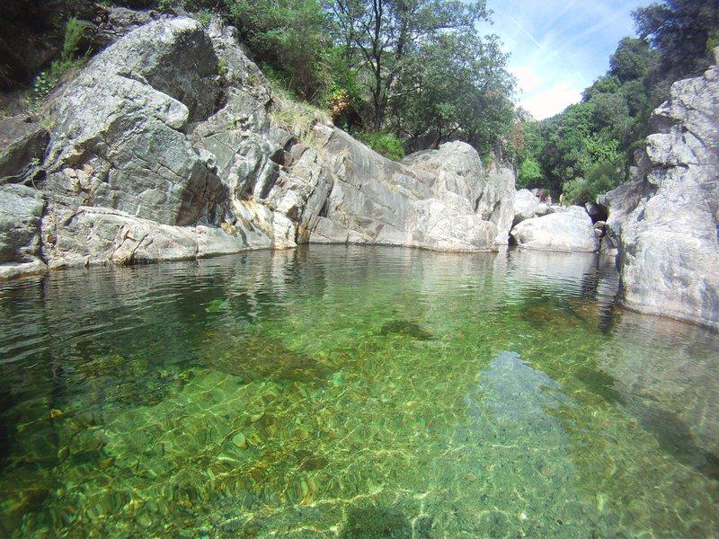 Gorges d'Héric dans le Parc Régional du Haut Languedoc