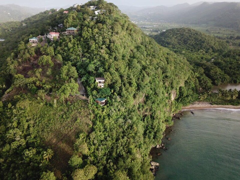 Hummingbird Hangout - the best sea views in Marigot!, holiday rental in Anse La Raye