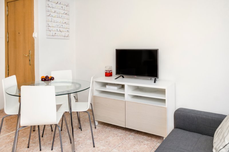 Salon avec TV-HD