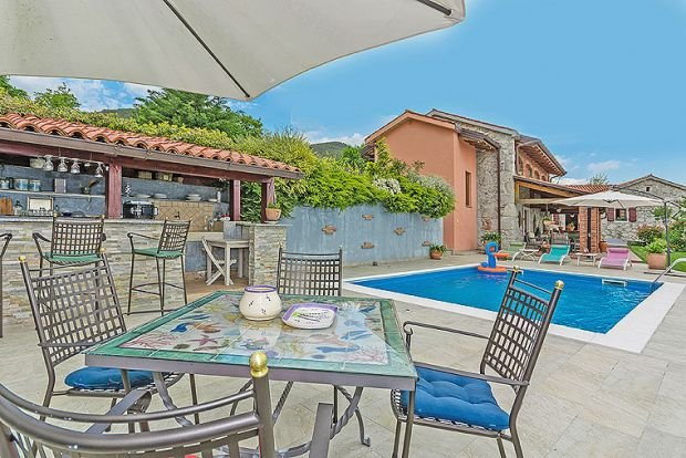 Marcici Villa Sleeps 10 with Air Con and WiFi - 5343672, holiday rental in Poljane
