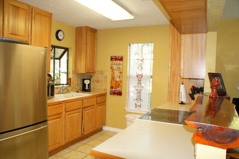 cozinha totalmente equipada!