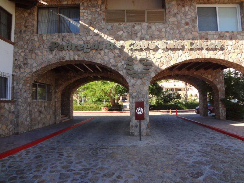 Our entrance to Pedregal