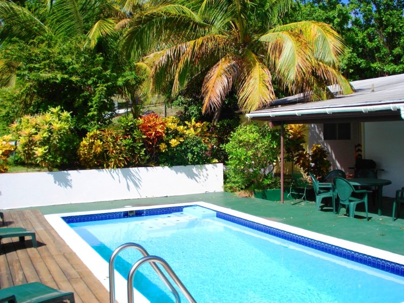Luscious Private Villa with Pool (FREE RENTAL CAR), holiday rental in Cedar Grove