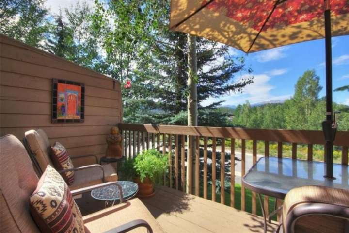View The Mountain Range And Lake Dillon From Your Private Deck