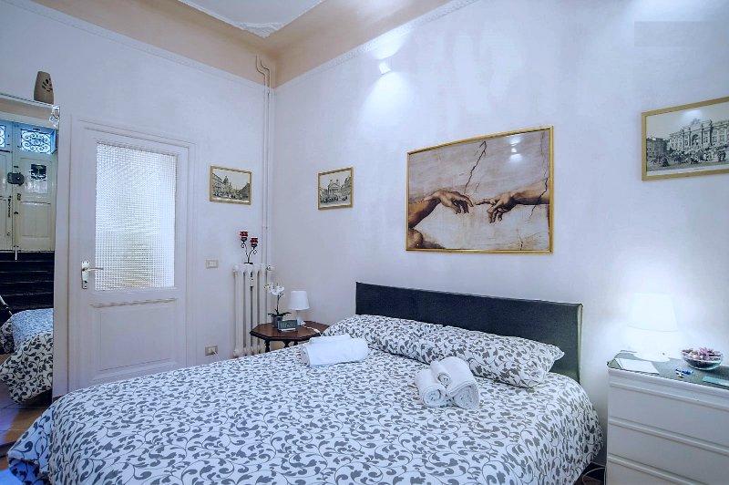 Komfortablen Doppelbett für zwei