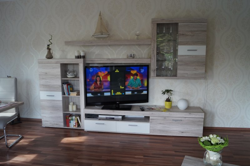 Living room cabinet with TV