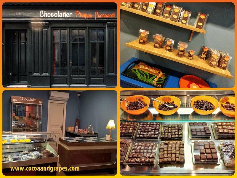 Shopfront / entrada de los apartamentos. chocolatero artesanal en el sitio.
