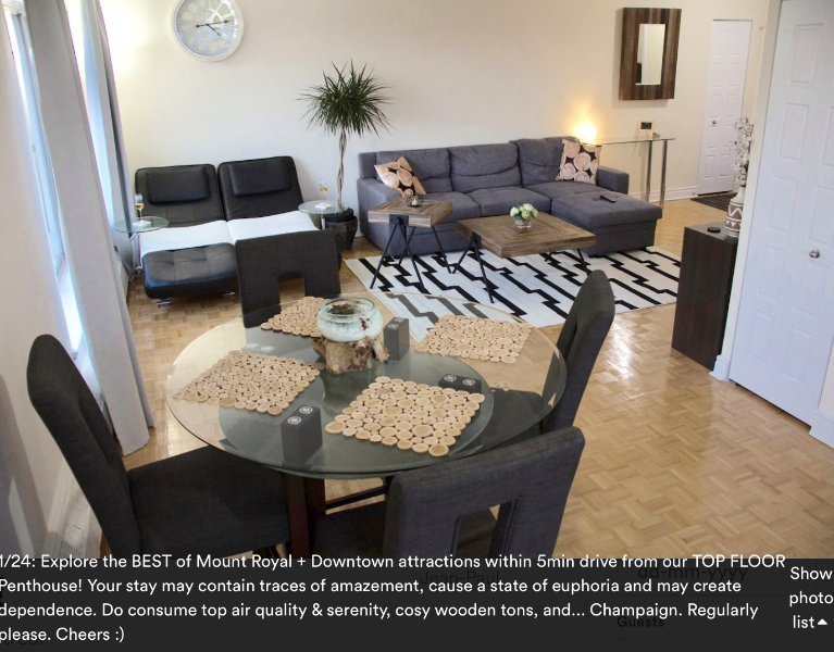 MONTREAL PENTHOUSE, Skyline VIEW DOWNTOWN/Mont Royal, Wifi/Netflix/Pool/Gym/Saun, vacation rental in Montreal