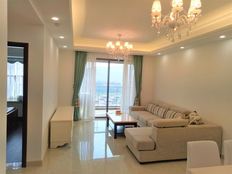 Zhuhai SeaEsta-2 Bedrooms Apartment with Beautiful Garden View, aluguéis de temporada em China