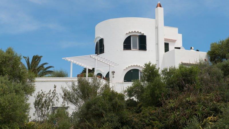 Villa uno de los pocos con terraza de la piscina sin vecinos