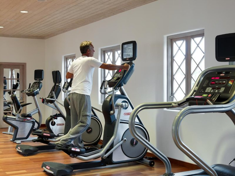 Gym on property