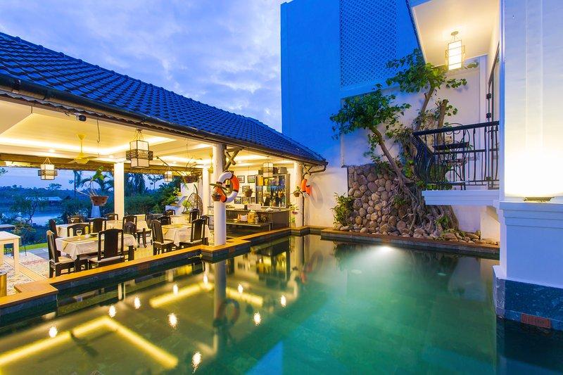 Riverside Impression Homestay villa, alquiler vacacional en Hoi An