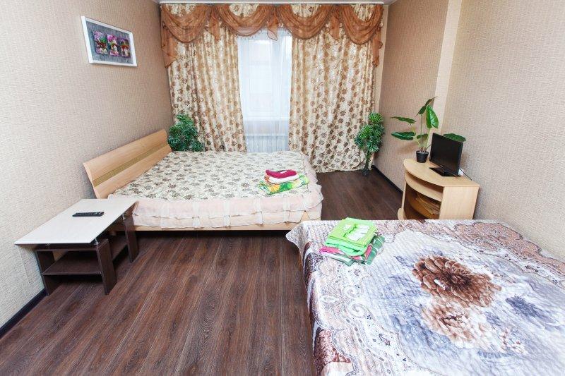 Большая квартира в элитном доме, holiday rental in Berdsk