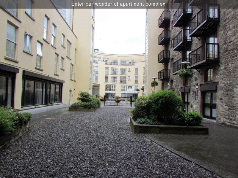Enter our wonderful apartment complex,