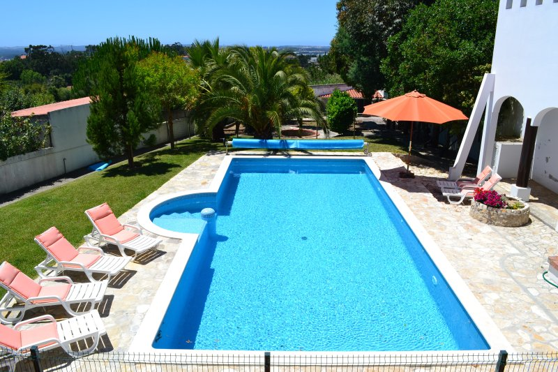 11m x 5m heated salt water pool, gated from private terrace.