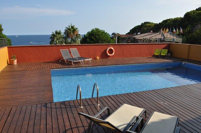 Amazing villa with swimming-pool, holiday rental in Sant Feliu de Guixols