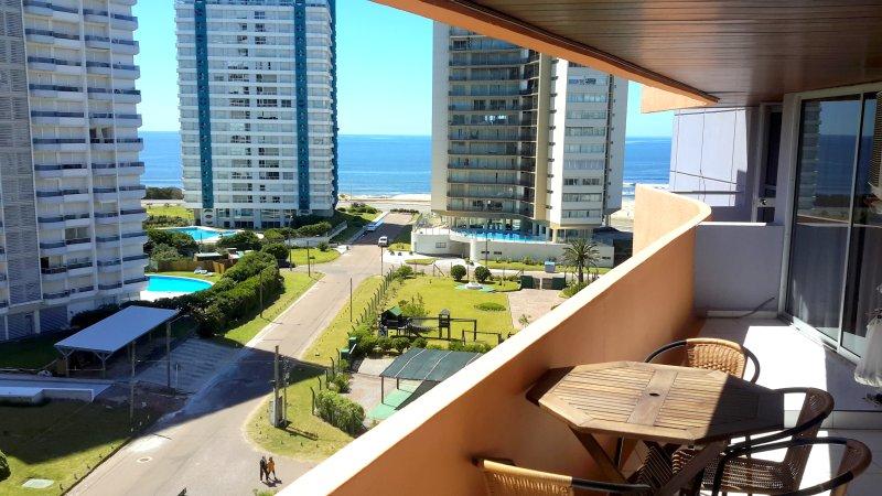 Vista desde el balcón del Océano Atlántico
