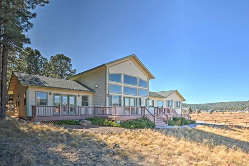 Your scenic escape begins at this 4-bed, 3-bath Flagstaff vacation rental house!
