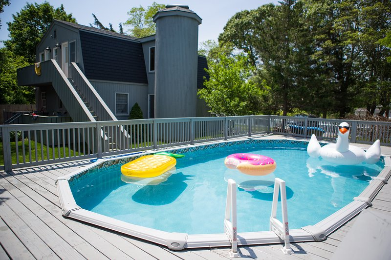 Relax and cool off in the pool!