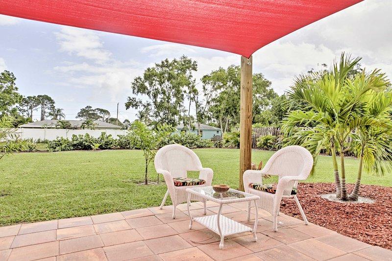 Relaxe lá fora e tome um pouco de ar fresco durante a sua estadia neste alojamento de férias!
