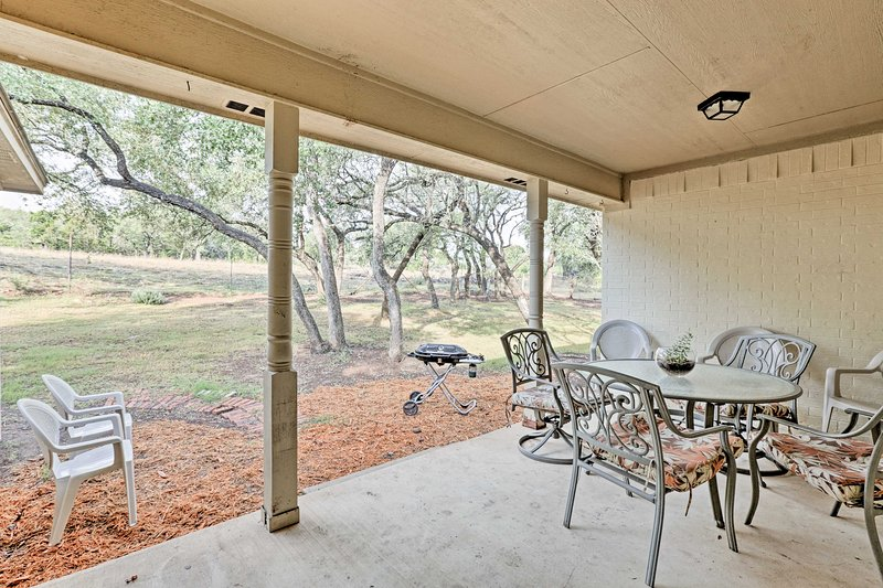 Plan your next Hill Country visit at this beautiful 4-bedroom, 2.5-bath vacation rental house.