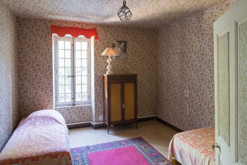 Slaapkamer 3 -1ste verdieping-: 2 eenpersoonsbedden