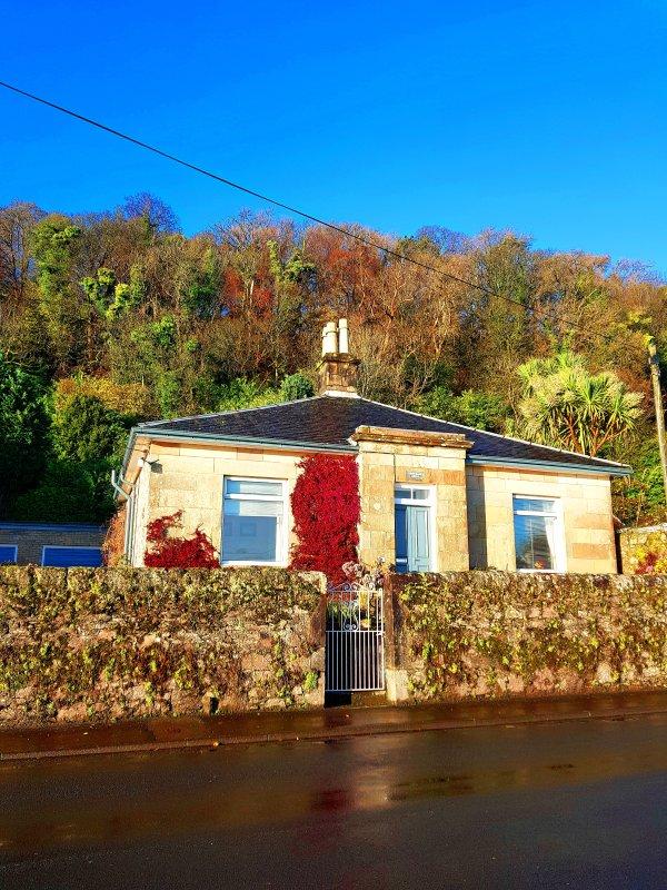 casa de campo isolada localizada na bela Ascog - Ascogbank Lodge