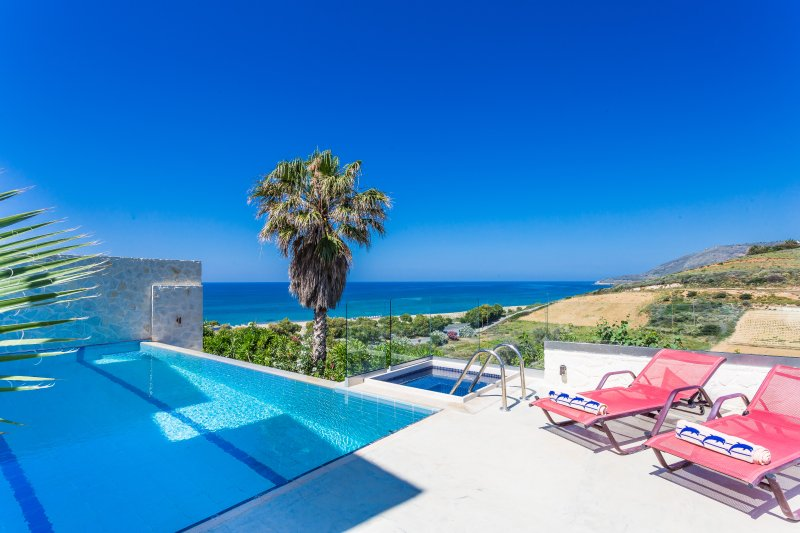 Seaview Villas Crete Villa Avra, vacation rental in Argyroupolis