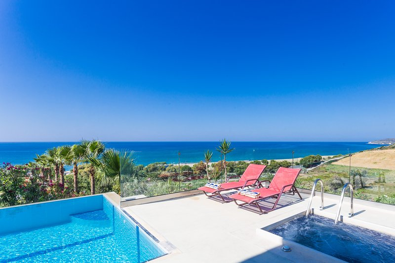 Seaview Villas Crete Villa Pirgos, vacation rental in Argyroupolis