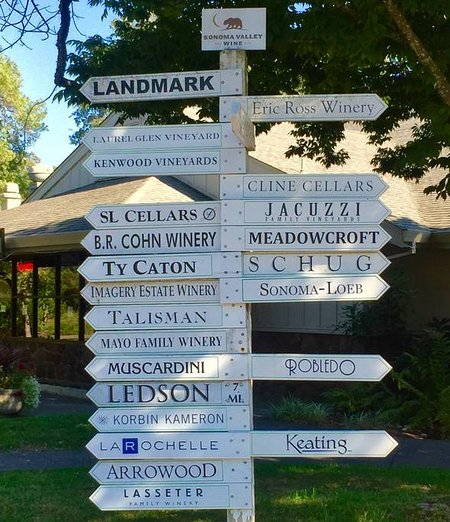Loads of wineries close by to choose from.  The Wine Highway is 5 minutes away from the cottage.