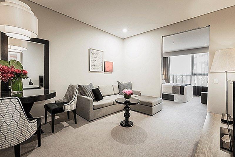 One Bedroom Apartment Exquisite interior design meets ...
