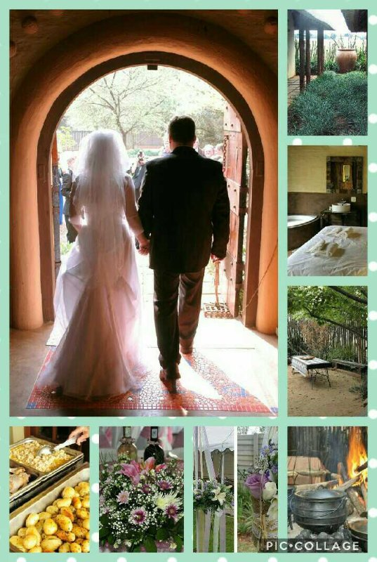 Boma and garden weddings, bridal preperation room and Honeymoon suite with all rooms booked out