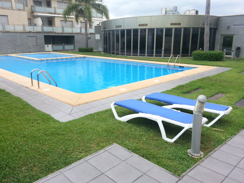 Pool for adults and children and other indoor pool at the bottom.