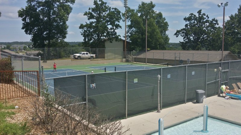 Pointe Royale Tennis Courts by the Pools