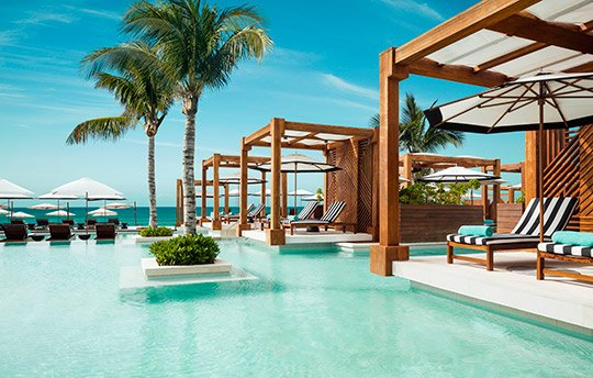 Beach club, exclusive access for Grand Luxxe reservations
