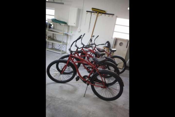 Ontdek de Florida Keys met het hele gezin op de 4 fietsen voor uw gebruik.