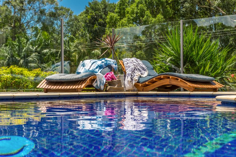 BlueGreen Sanctuary. -  BlueGreen House, Studio and Villa, holiday rental in Byron Bay