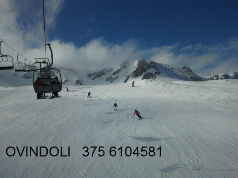 ovindoli centro abruzzo montagna neve vavanze esti, aluguéis de temporada em Avezzano