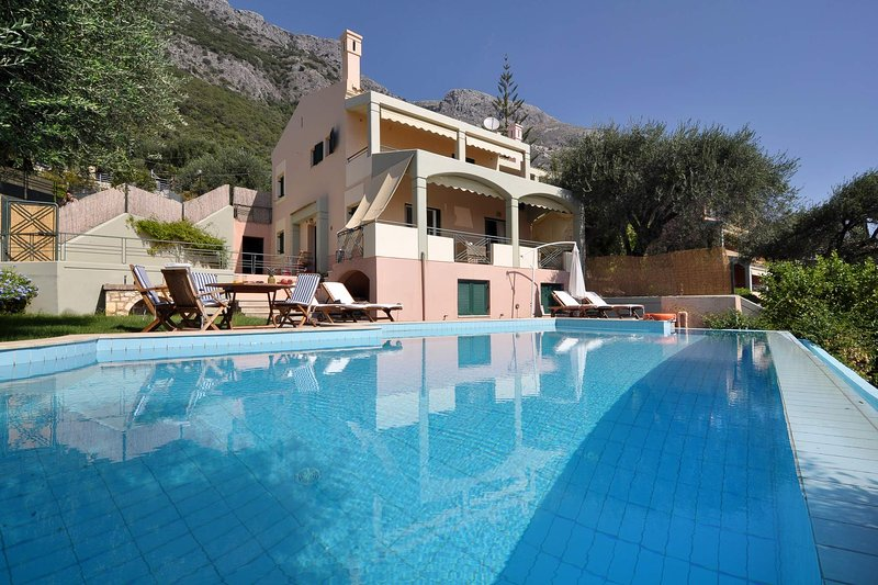 Villa IRIS - Luxurious Villa with Private Pool, holiday rental in Corfu