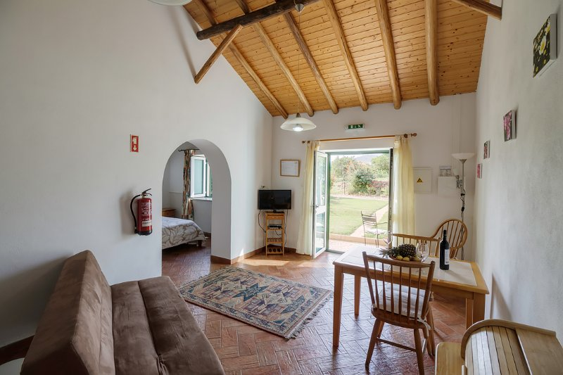 Duas Quintas,delightful rural studio with breakfast among the orange trees., vacation rental in Cumeada