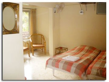 Standard Room , airconditioned with Referigerator , Clean washrooms