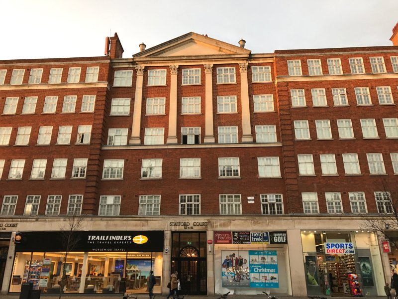 Stafford Court on Kensington High Street