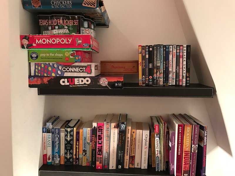 Books, DVDs & Games