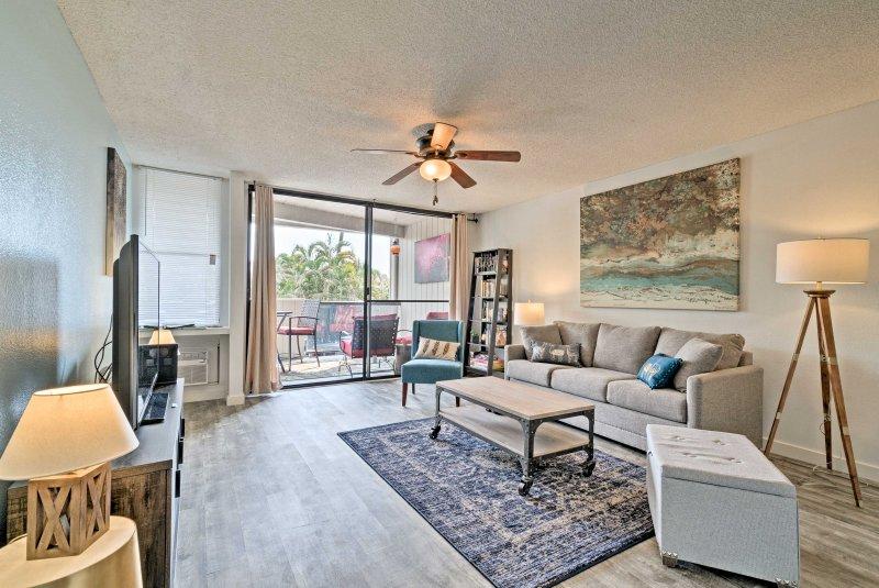 Volg je reislust om deze 1-bed, 1-bathvacation verhuur appartement in Kailua-Kona!