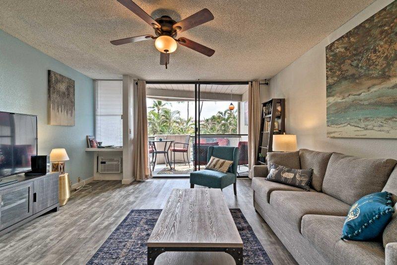 U zult genieten van rust te komen in dit appartement na een lange, avontuurlijke dagen.