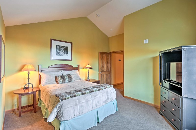 You'll enjoy plenty of peace and privacy in this spacious bedroom.