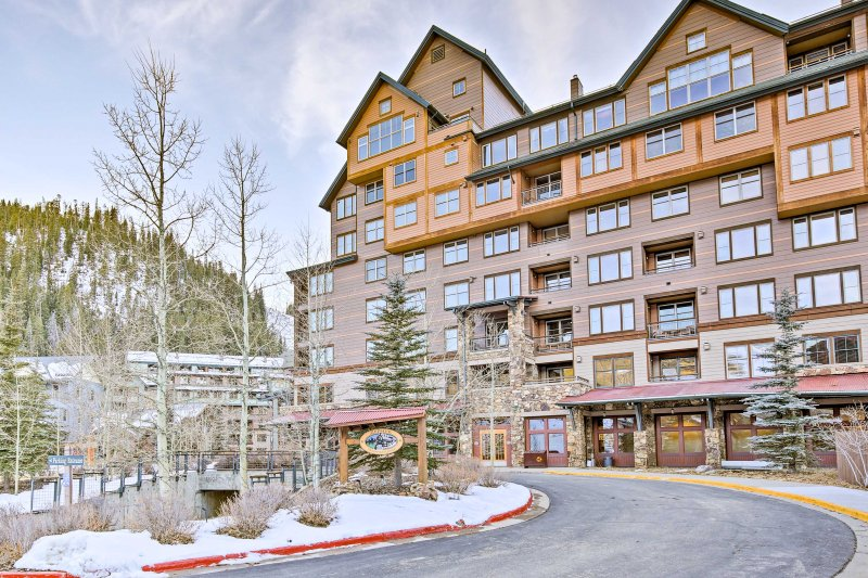 Escape to Winter Park at this ski-in/ski-out vacation rental condo!