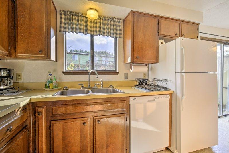 Moderne apparaten maken het koken een koud kunstje tijdens uw verblijf!