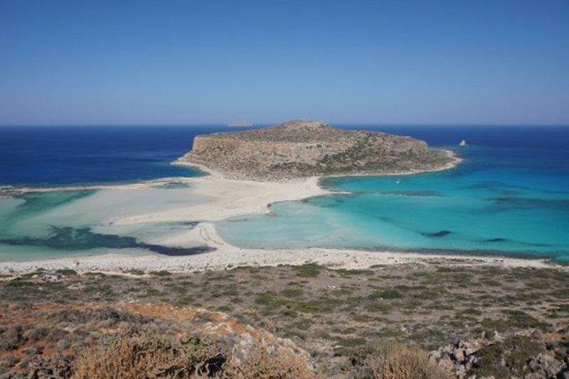 La famosa laguna di Balos la 17 km dalla villa