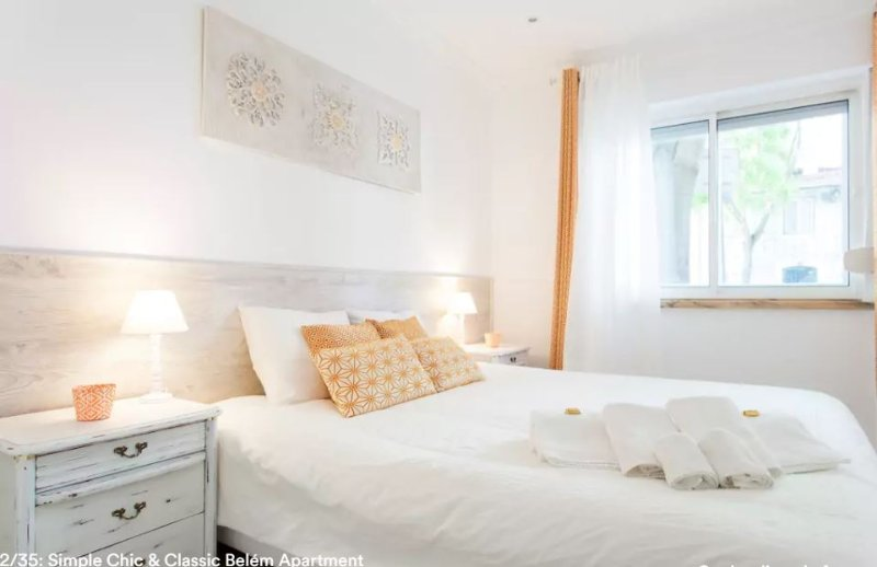 Simple Chic Belem Apartment, holiday rental in Belem